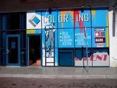 Магазин красок и лаков «Color-ing» в Подгорице