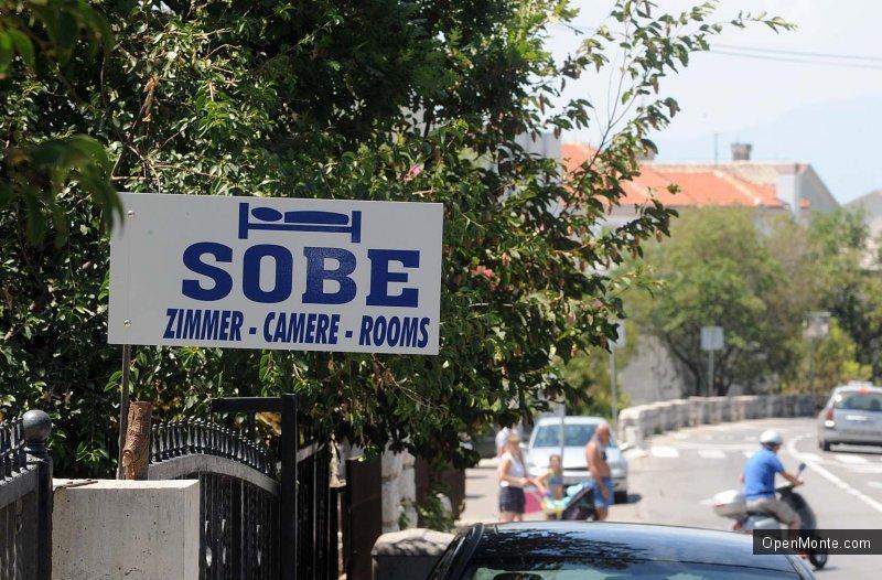 Новости Черногории: Нелегальное размещение остается одной из важных проблем туротрасли Черногории