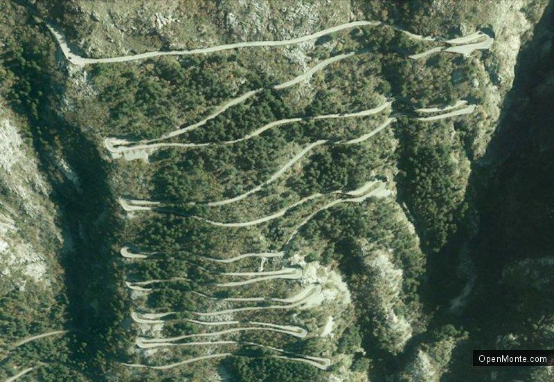 О Черногории: Уникальный горный серпантин Котор - Негуши и его создатель Иосип Сладе
