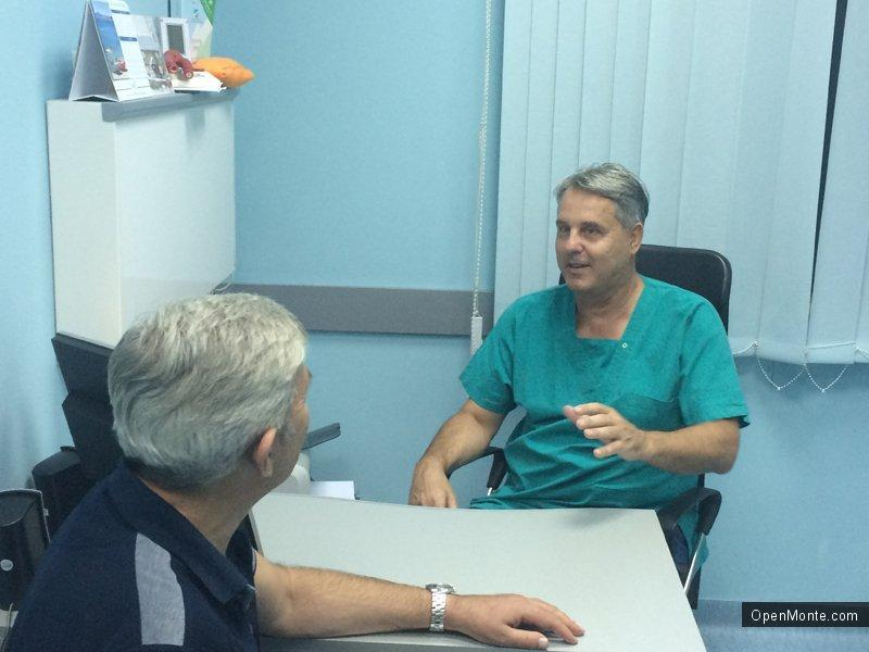 Люди Черногории: Проживание в Черногории: Давор Муcич:  Сосудистая хирургия требует очень тонкой и точной работы
