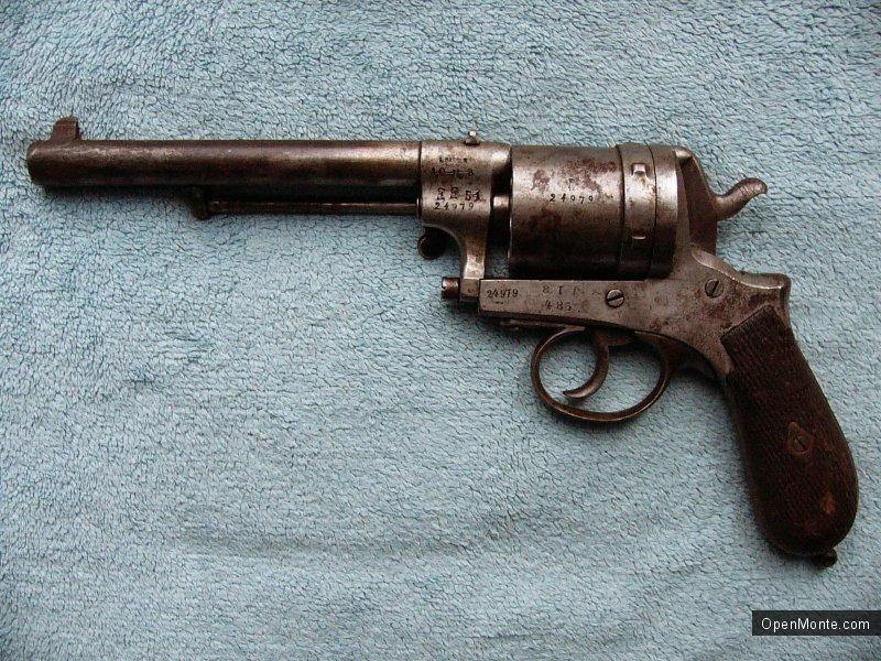 О Черногории: Gasser Montenegrin M1870/74 - легендарный черногорский пистолет