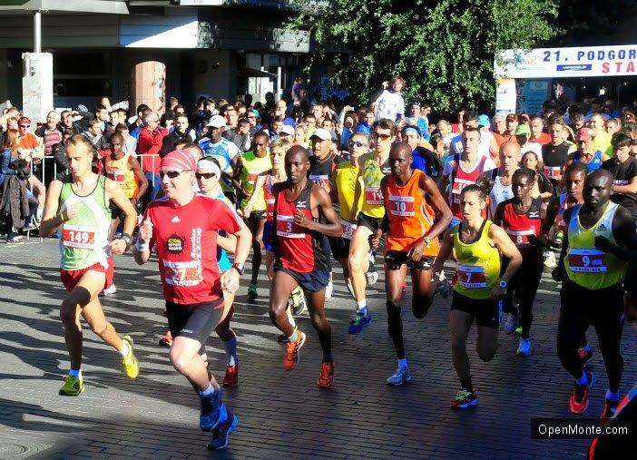 Новости Черногории: 25 октября состоится Подгорицкий марафон