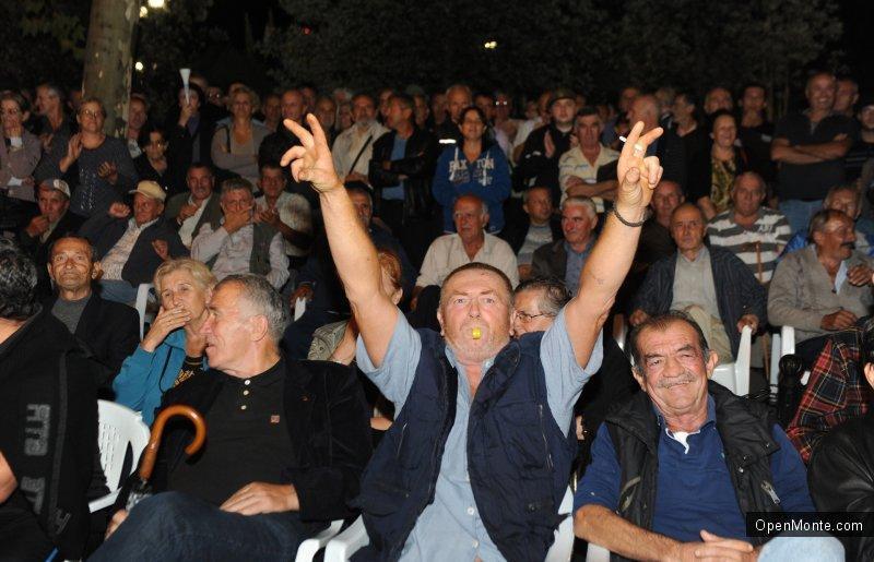 Новости Черногории: О Черногории: На митинге оппозиции в Подгорице протестующие поздравляли Путина с днем рождения
