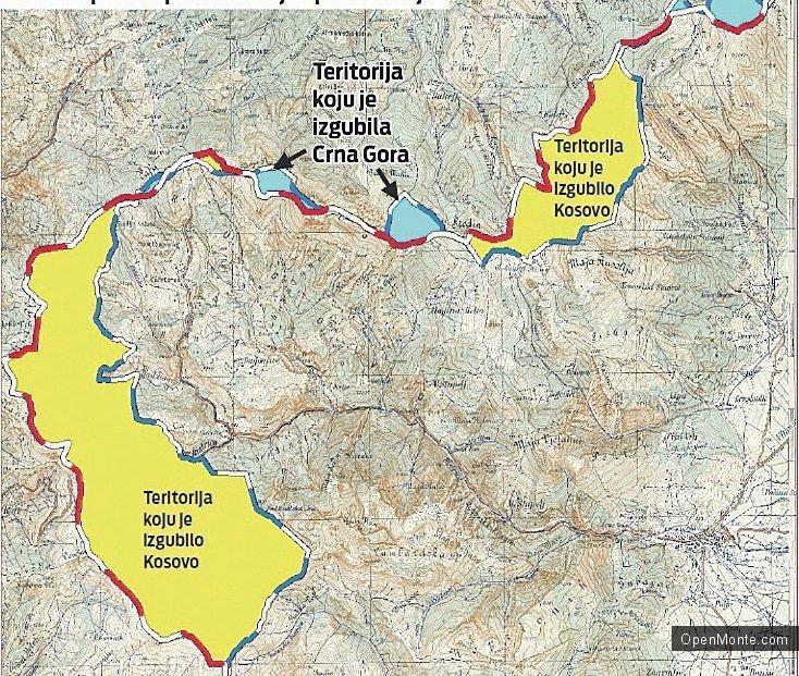 Новости Черногории: В черногорской области Рожае недовольны договором о границах с Косово