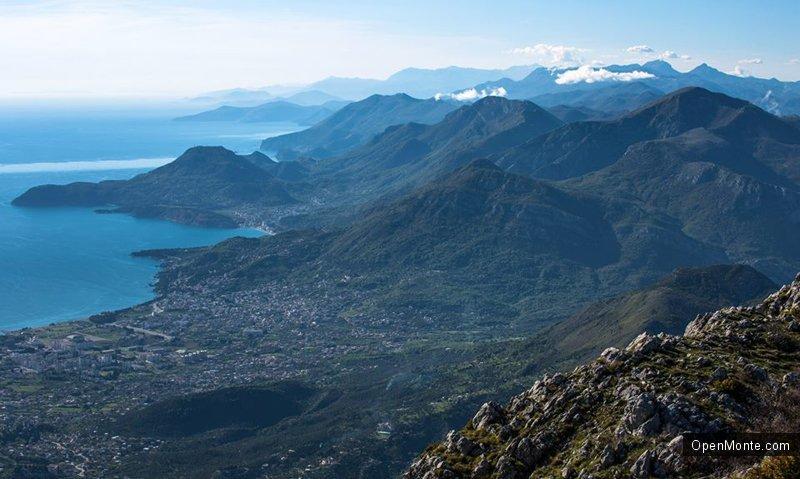 Фото Черногории: Взгляд с горы Лисень: фоторепортаж