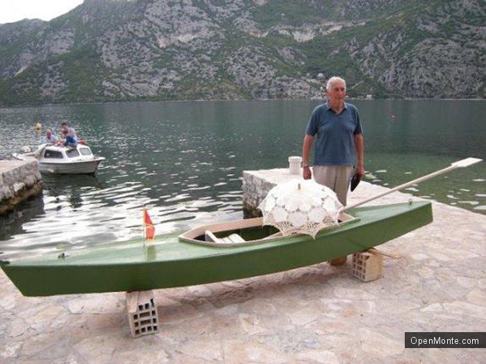 Новости Черногории: «Гондола любви» снова будет катать влюбленных по Боке Которской