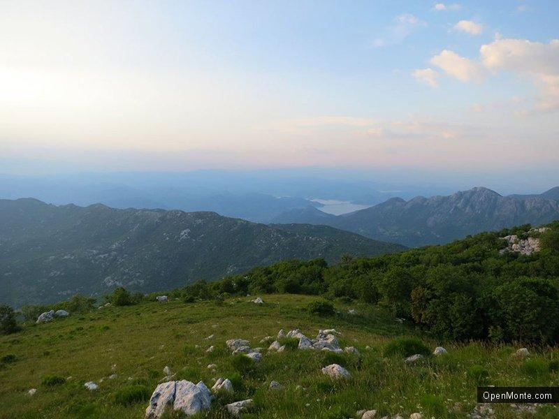 Фото Черногории: Закат на Врсуте: фотоотчет