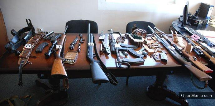 Новости Черногории: О Черногории: В Черногории зарегистрировано 87 тысяч единиц оружия