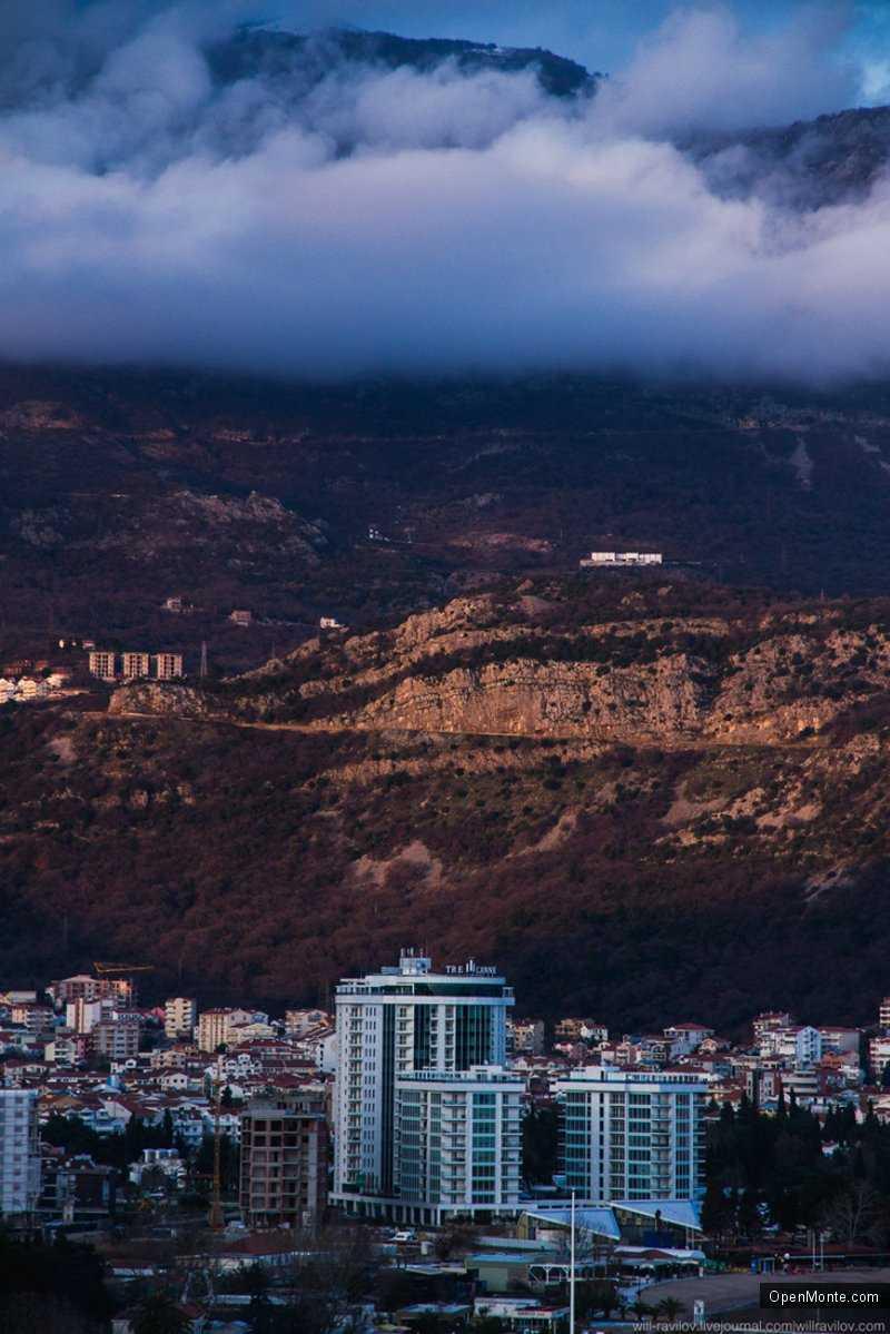 Фото Черногории: Первый день весны в Будве
