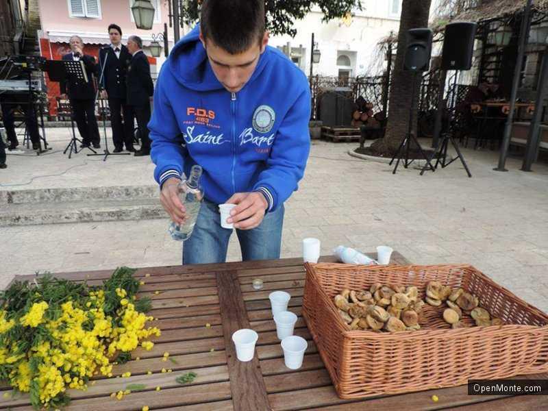 Отдых в Черногории: Проживание в Черногории: Окончание Фестиваля Мимозы в Херцег-Нови