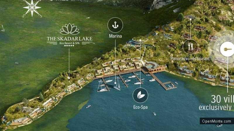 Новости Черногории: На Скадарском озере построят эко-курорт «Porto Skadar lake»
