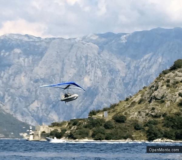 Новости Черногории: «Летучий корабль» переполошил жителей Боки Которской