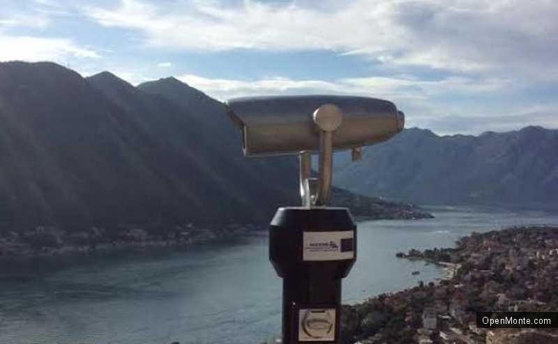 Новости Черногории: В Которе установили панорамный бинокль