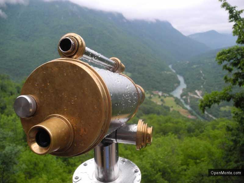 Новости Черногории: Плужине: новый телескоп и смотровая площадка появились при монастыре Заградже
