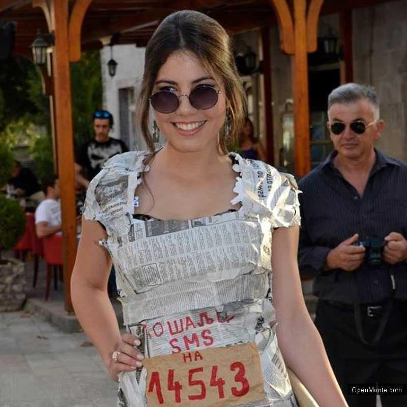 Новости Черногории: Тиват: это выпускное платье признано лучшим в 2014 году
