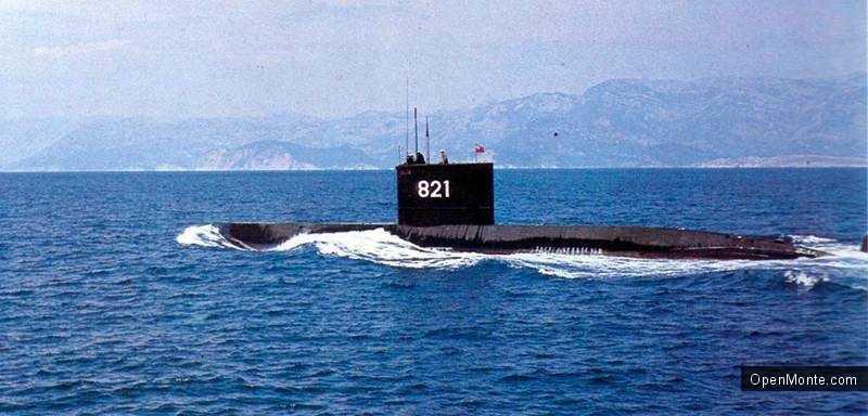 Новости Черногории: В Порто Монтенегро будет открыто бесплатное посещение подводной лодки «P-821 Heroj»