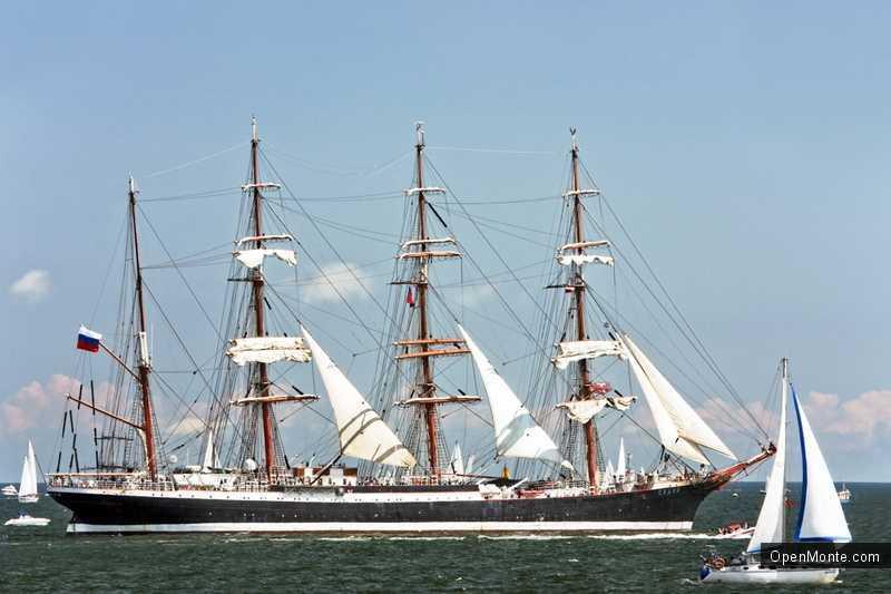 Новости Черногории: Российский парусник «Седов» посетит порт Котора этим летом