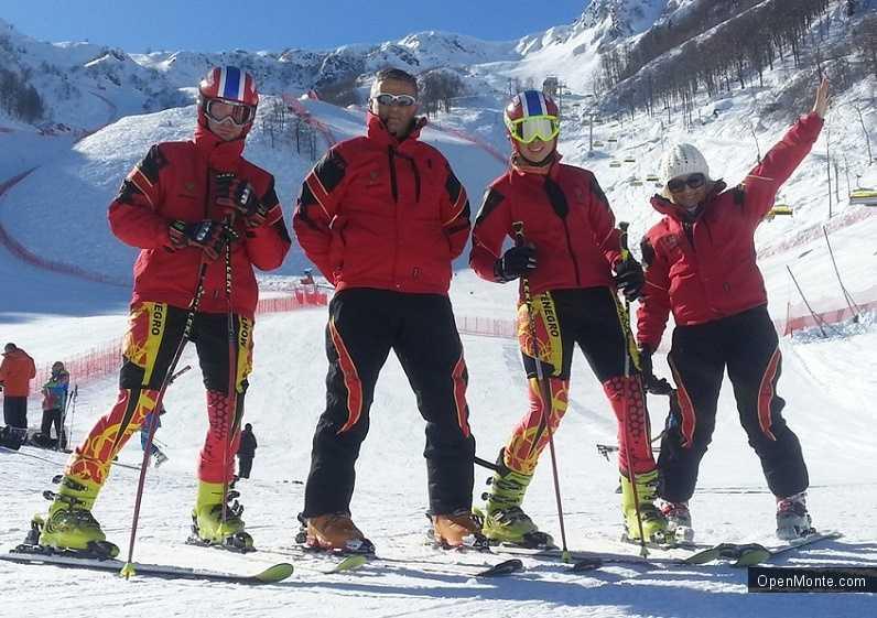 Новости Черногории: Черногорская лыжница выступит на Олимпиаде лишь в обычном слаломе