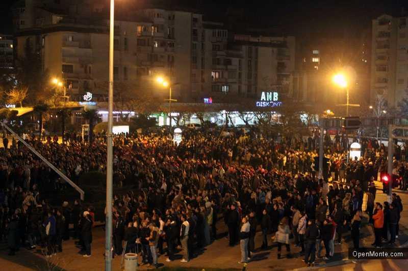 Новости Черногории: Акция памяти убитых братьев Гоячаниных в Баре собрала около четырех тысяч человек