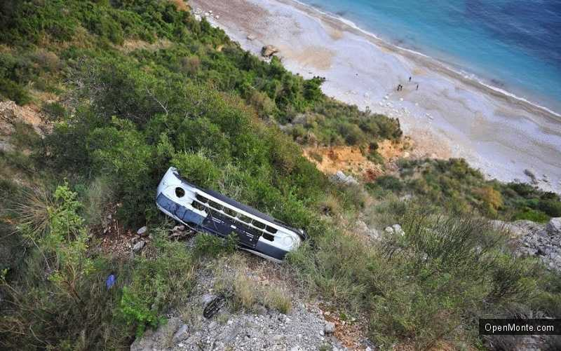 Новости Черногории: Россиянин погиб в автокатастрофе рядом с пляжем Яз