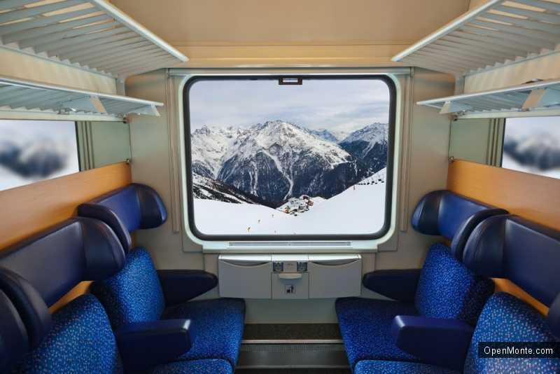 Новости Черногории: Новогодние промо цены на билеты на поезд в Черногории