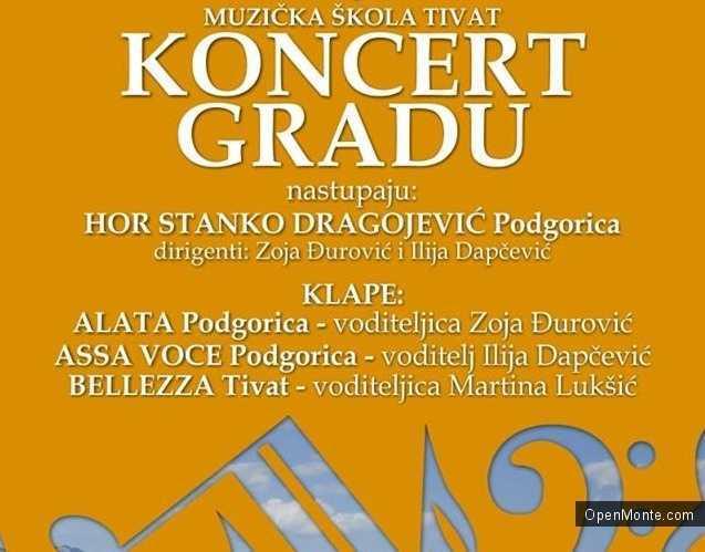 Проживание в Черногории: В Тивате состоялся концерт в честь дня рождения музыкальной школы