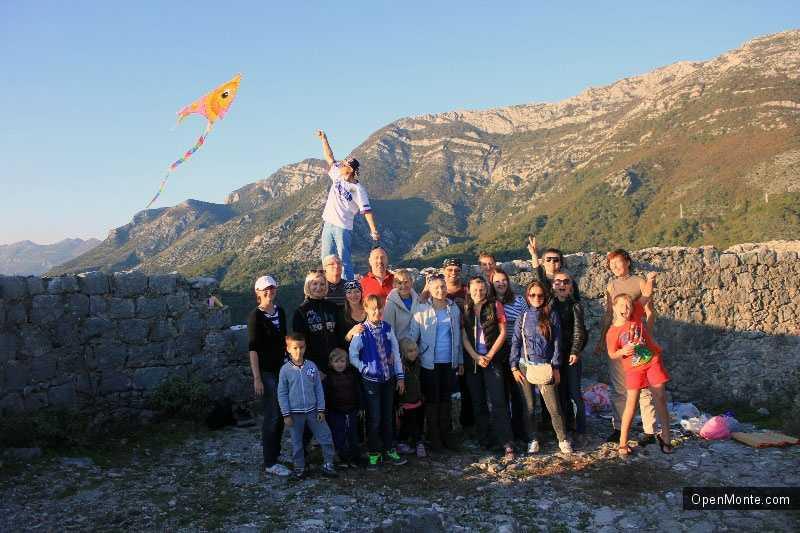 Фото Черногории: Восхождение к крепости Хай-Нехай 16 ноября