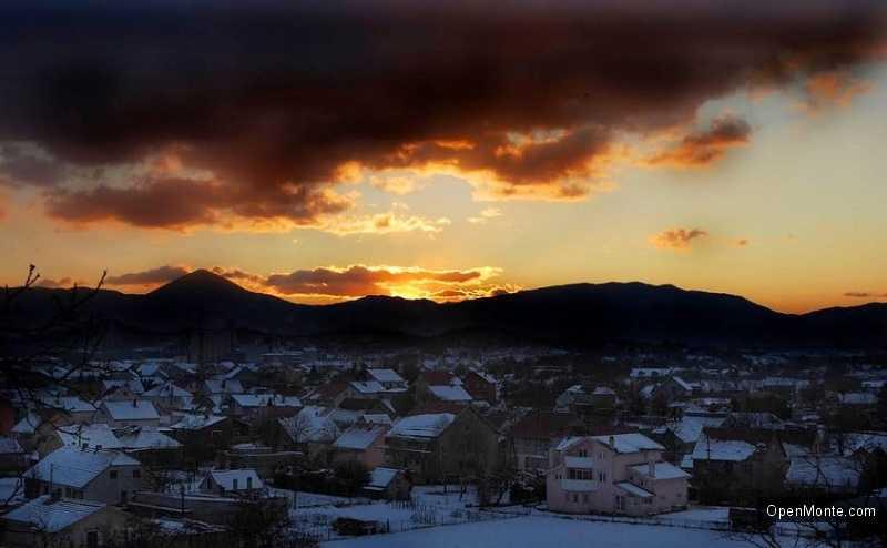 О Черногории: Город Никшич в Черногории