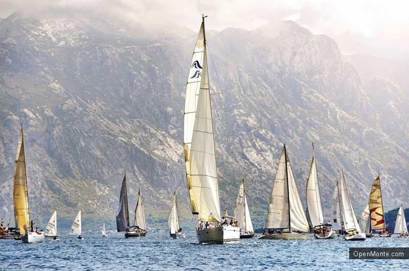 Новости Черногории: Регата «Тысяча островов» в Тивате и Боко-Которском заливе