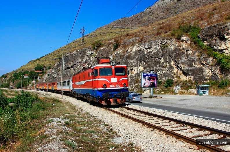 Новости Черногории: Поезд в Черногорию опоздал с прибытием на сутки