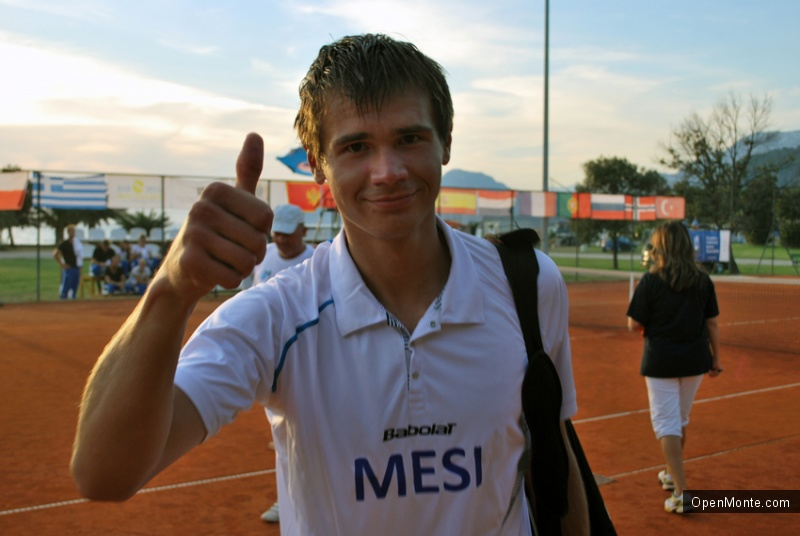 Фото Черногории: Фотоотчет со студенческого турнира по теннису в Черногории