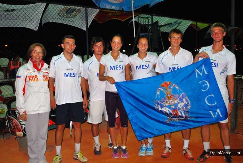 Новости Черногории: Россия победила в студенческом турнире по теннису в Черногории