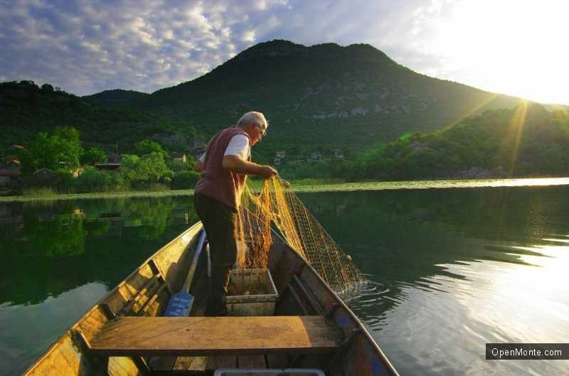 Отдых в Черногории: Рыбалка в Черногории