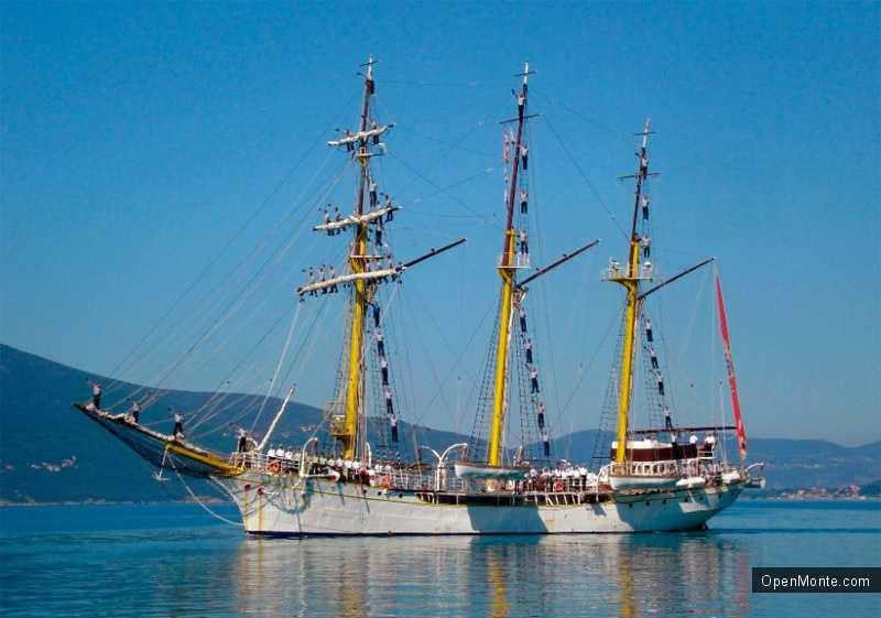 Новости Черногории: О Черногории: Легендарный корабль «Ядран» отмечает 80-летний юбилей