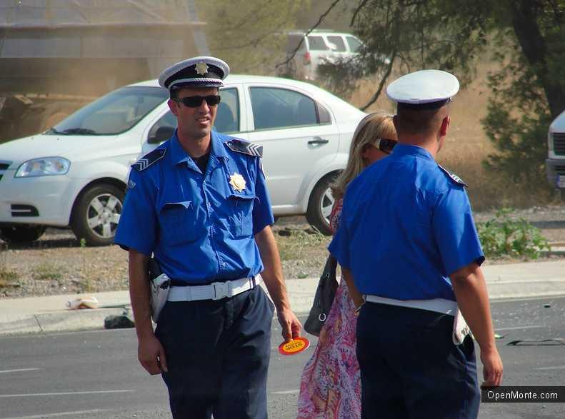 Новости Черногории: Полиция Будвы: на страже порядка и безопасности туристов