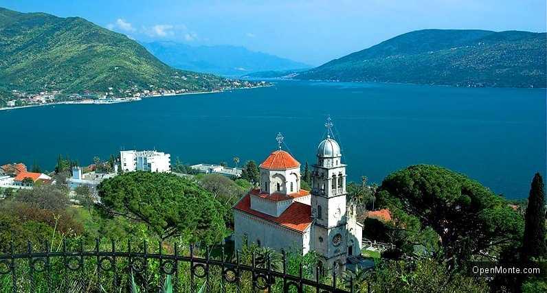 О Черногории: фото монастырь Савина