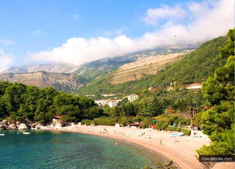 О Черногории: фото пляжа Жанице