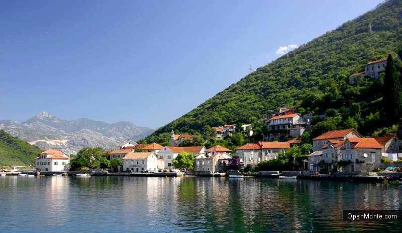 О Черногории: посёлок Игало фото