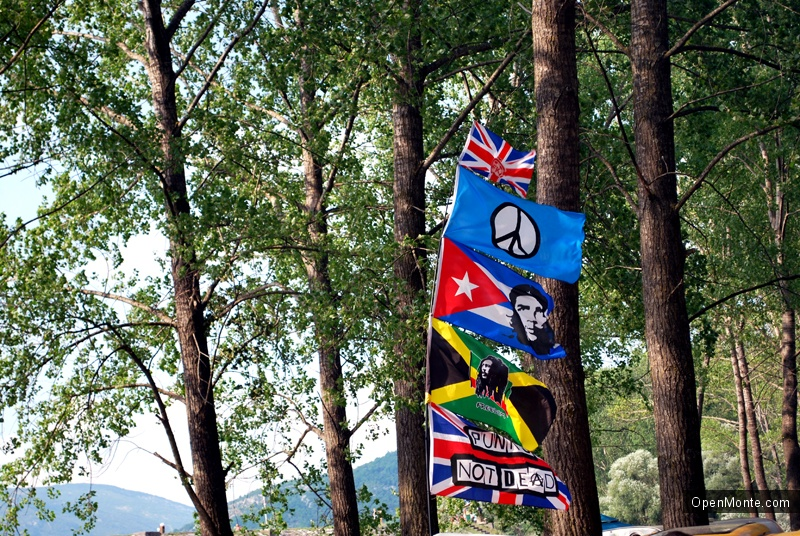 Фото Черногории: Фото с фестиваля Lake Fest на озере Крупац, рядом с Никшичем