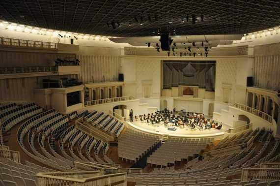 Курилка: На сайте Московской филармонии ежедневно в режиме он-лайн идет трансляция концертов из зала им. Чайковского