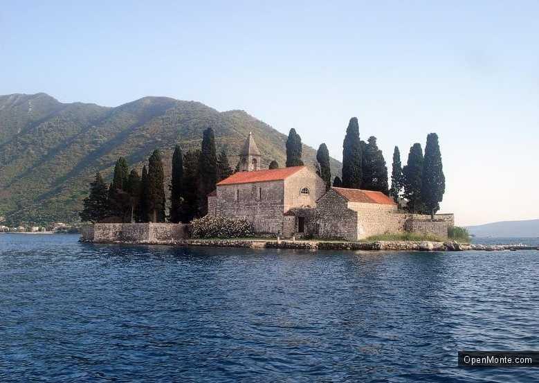 О Черногории: остров Св. Джорджа