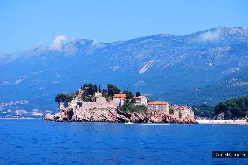 О Черногории: Острова Черногории