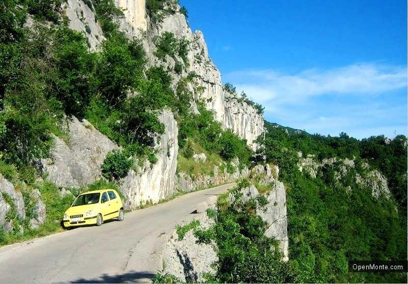 О Черногории: Монастырь Острог в Черногории