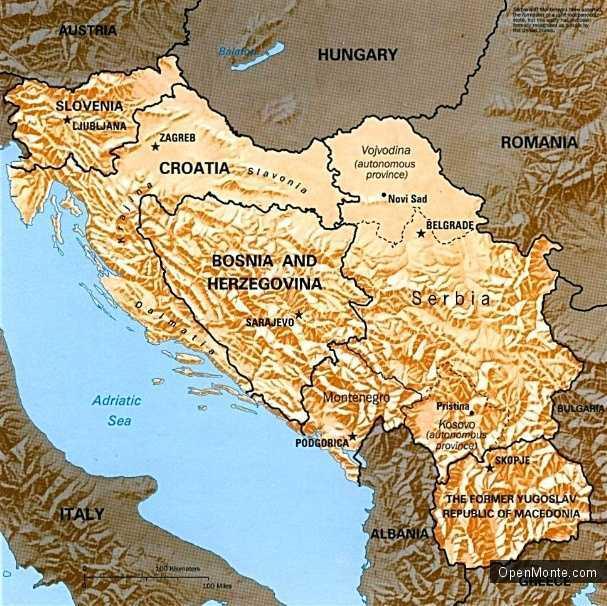 О Черногории: История Черногории
